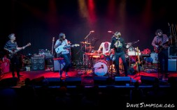 Arthur Ahbex supporting The Brian Jonestown Massacre live at The Powerstation, Auckland 16 June 2018