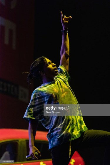 AUCKLAND, NEW ZEALAND - SEPTEMBER 28: A$AP Rocky performs during Listen In at Spark Arena on September 28, 2018 in Auckland, New Zealand. (Photo by Dave Simpson/WireImage)