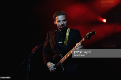 AUCKLAND, NEW ZEALAND - OCTOBER 16: Mike Naran of Panic! At The Disco performs during the Pray For The Wicked Tour at Spark Arena on October 16, 2018 in Auckland, New Zealand. (Photo by Dave Simpson/WireImage)