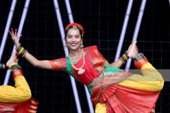 AUCKLAND, NEW ZEALAND - OCTOBER 20: Performers entertain the crowds during the 17th Auckland Diwali Festival on October 20, 2018 in Auckland, New Zealand. Auckland Diwali Festival is one of Auckland's biggest and most colourful cultural festival, celebrating traditional and contemporary Indian culture. (Photo by Dave Simpson/WireImage)