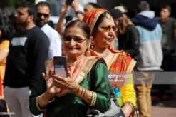 AUCKLAND, NEW ZEALAND - OCTOBER 20: People enjoy the sights, sounds and smells during the 17th Auckland Diwali Festival on October 20, 2018 in Auckland, New Zealand. Auckland Diwali Festival is one of Auckland's biggest and most colourful cultural festival, celebrating traditional and contemporary Indian culture. (Photo by Dave Simpson/WireImage)