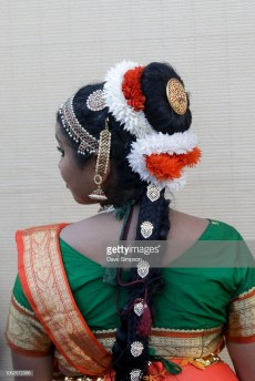 AUCKLAND, NEW ZEALAND - OCTOBER 20: A performer shows off her hair decorations during the 17th Auckland Diwali Festival on October 20, 2018 in Auckland, New Zealand. Auckland Diwali Festival is one of Auckland's biggest and most colourful cultural festival, celebrating traditional and contemporary Indian culture. (Photo by Dave Simpson/WireImage)