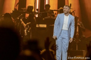Sam Smith live at Spark Arena, Auckland 2nd November 2018