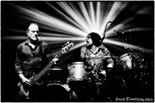 AUCKLAND, NEW ZEALAND - DECEMBER 04: Steve Kilbey and Peter Koppes from The Church perform on stage as part of the Starfish 30th Anniversary Tour at Auckland Town Hall on December 4, 2018 in Auckland, New Zealand. (Photo by Dave Simpson/WireImage)