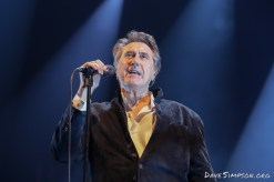 AUCKLAND, NEW ZEALAND - MARCH 07: Bryan Ferry performs at Spark Arena on March 07, 2019 in Auckland, New Zealand. (Photo by Dave Simpson/WireImage)