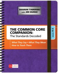 Common Core Companion, K-2, Jim Burke