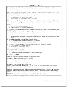 Fig 2 - Unit Explanatory Page