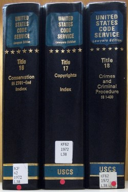 Federal statutes, with annotations