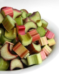The rhubarb diet probably doesn't include pie.