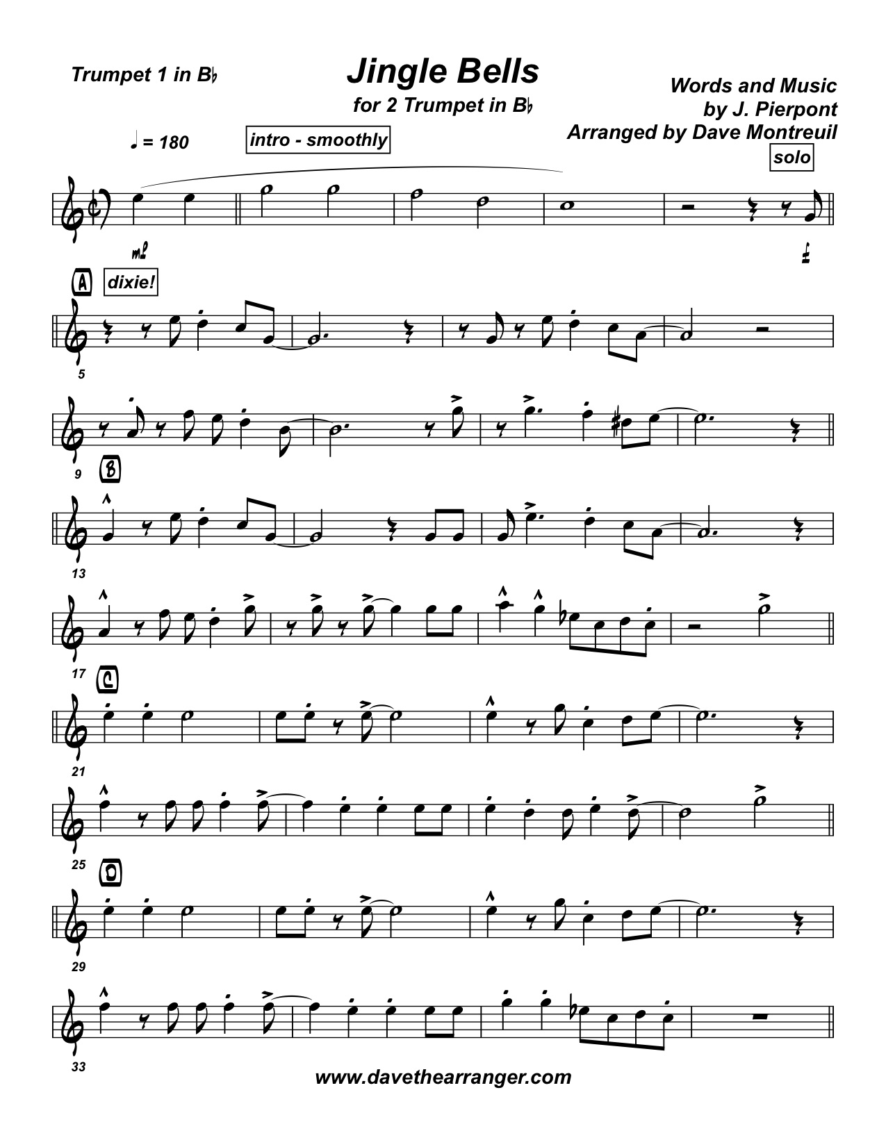 Back To Trumpet Duet Page