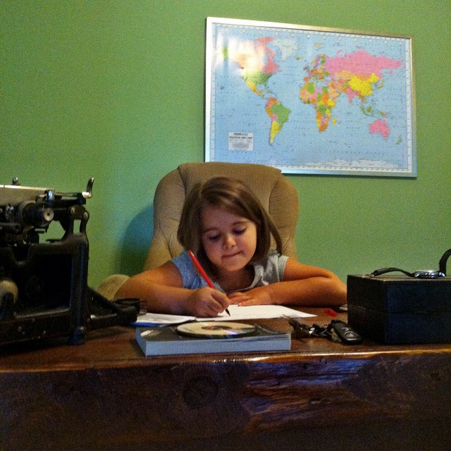 Writer in training.
