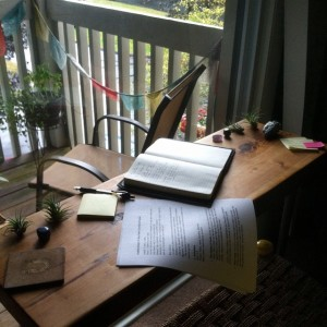 Rainy Wednesday in New England. And deep into course development. Writing as sacred ritual. Writing as a way of being. #TheLiteratiWriters #ComingBackSoon