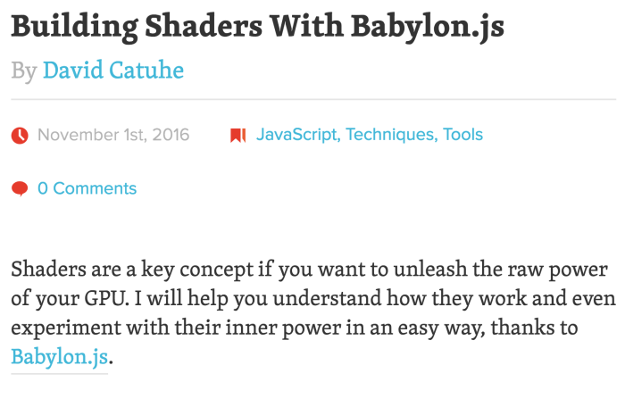 babylonjs-shaders