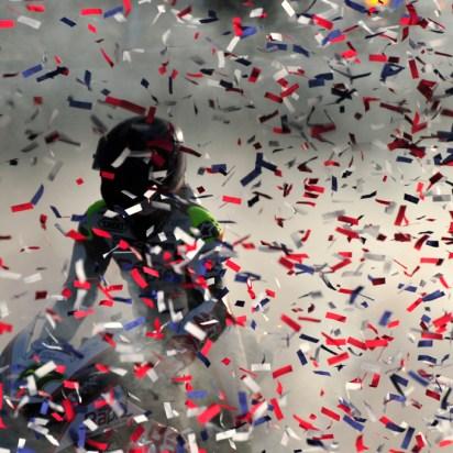 Shakey Byrnes.Victory at Brands Hatch 2014