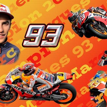 Marc Marques.Moto GP Champion 2017, Limited Edition Print 1-93