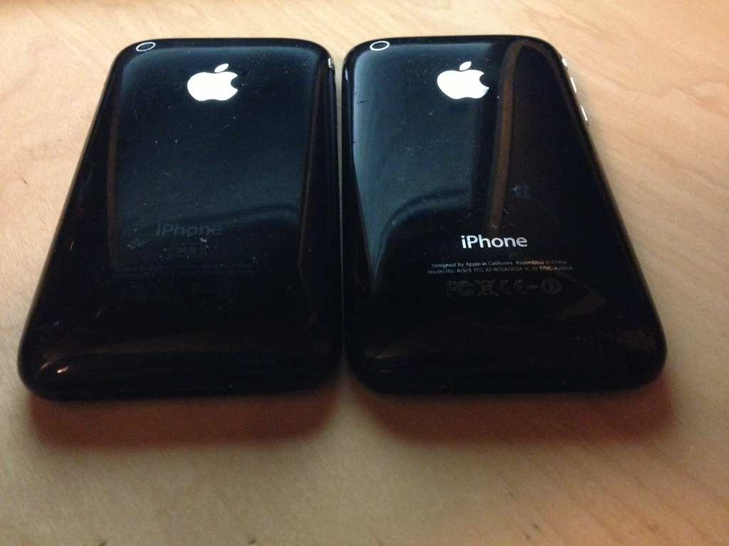 How to tell the difference between 3G and 3GS