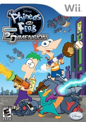 Phineas and Ferb Across the 2nd Dimension [SMFE4Q]
