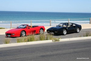 Southern Beaches Ferrari Photoshoot
