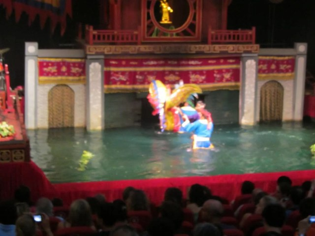 Water Puppetry in Hanoi