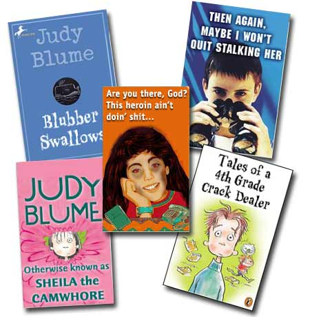 Judy Blume books that never saw print