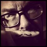 Davezilla with mustache
