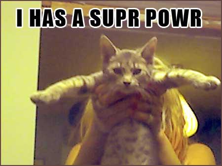 I HAS A SUPR POWR