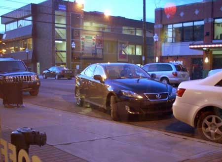 Nice parking job