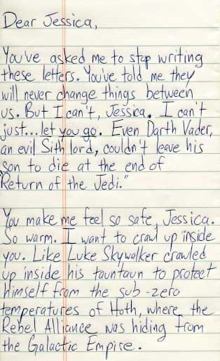 Dear Jessica,