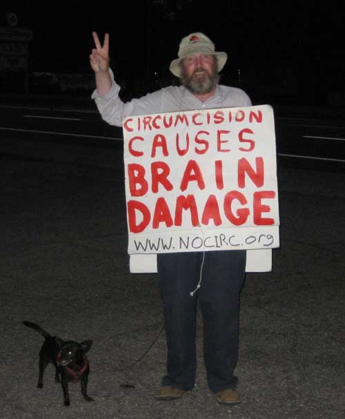 circumcision causes brain damage