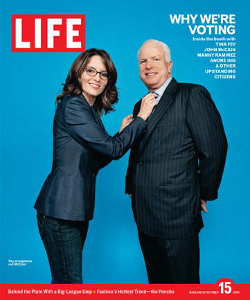Real Fey-McCain Life Magazine cover from 2004.