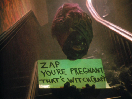 Zap! You're pregnant. That's Witchcraft