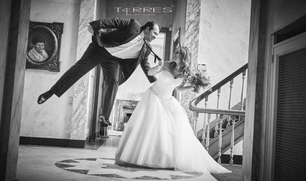Zwart wit Huwelijksfotograaf