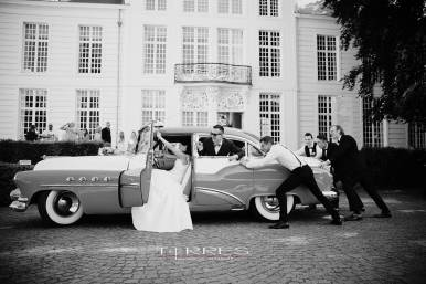 leuke Groepsfoto huwelijksreportage