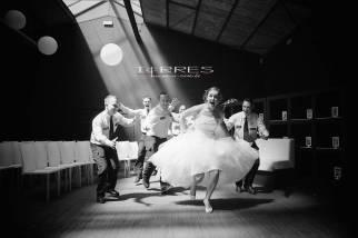 Leuke trouwfoto - bruid en bruidegom