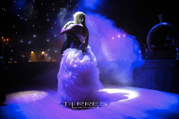 trouwfotograaf D. torres openingsdans