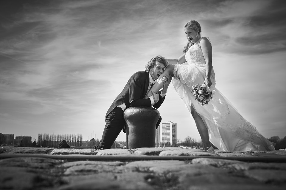 huwelijksfotograaf trouwen