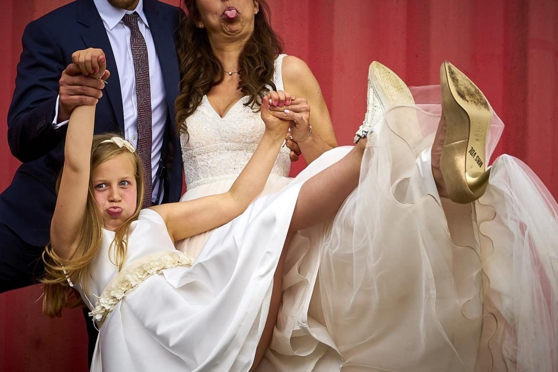 Trouwfoto's bruidspaar