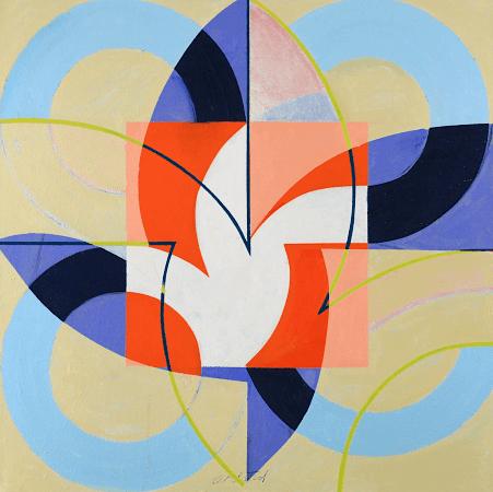 """""""Lucky"""", oil on canvas, 36 x 36""""."""