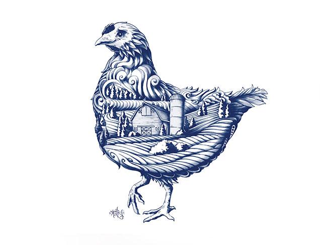 Blue Goose identity design