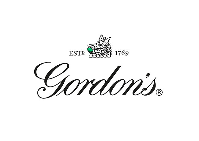 Gordon's Gin identity design