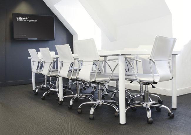 Believe in meeting room