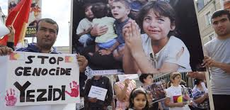 "Boris Johnson said the Yazidis were being subjected to Genocide but that ""for some baffling reason the Foreign Office still hesitates to use the term genocide."" No need to be baffled any longer Prime Minister. And for the sake of this Yazidi survivor listen to her appeal that you back the Genocide amendment. Hesitate no longer."