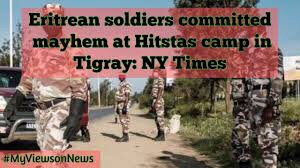 """UK says killers in Ethiopia """"must be held to account, whoever they may be"""" and responds to call that eye witness statements are taken from refugees from Tigray about reports of war crimes and crimes against humanity in that region."""