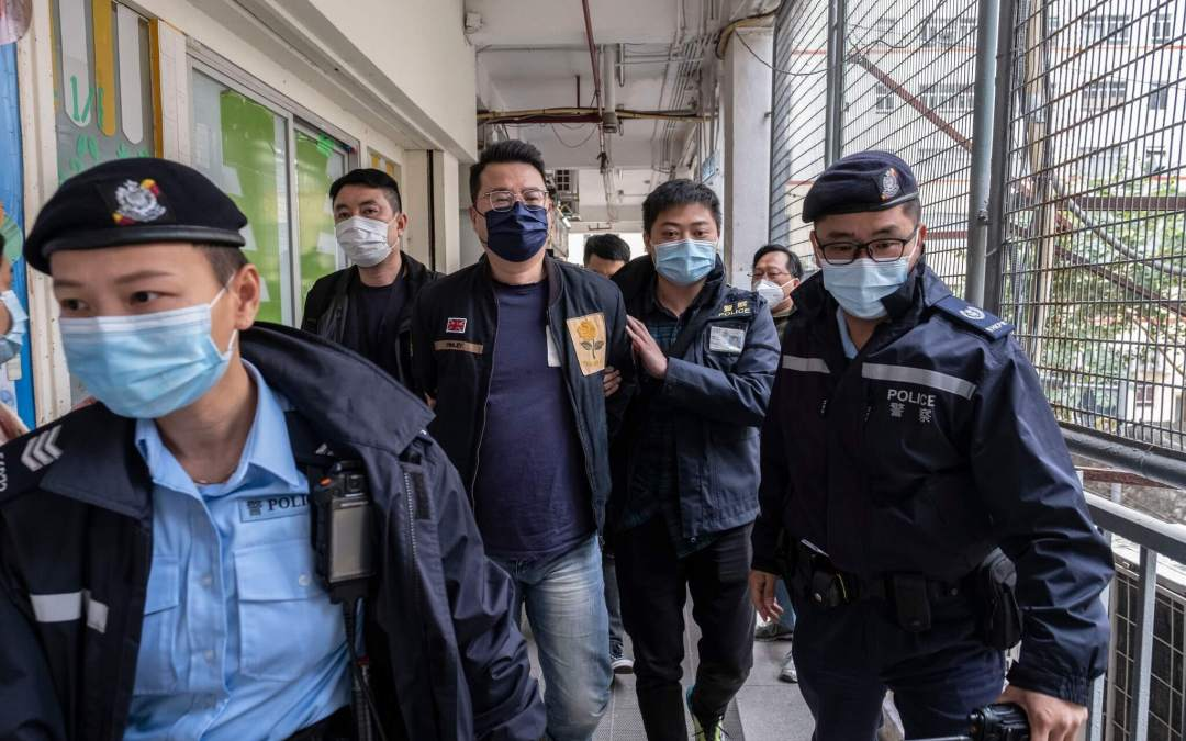Wave of mass arrests in Hong Kong – Question today to UK Government