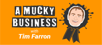 "Tim Farron discusses ""the mucky business"" of politics with me for his radio show."