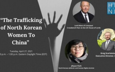 Link to Webinar on Human trafficking of North Korean women to China and its links to genocide.