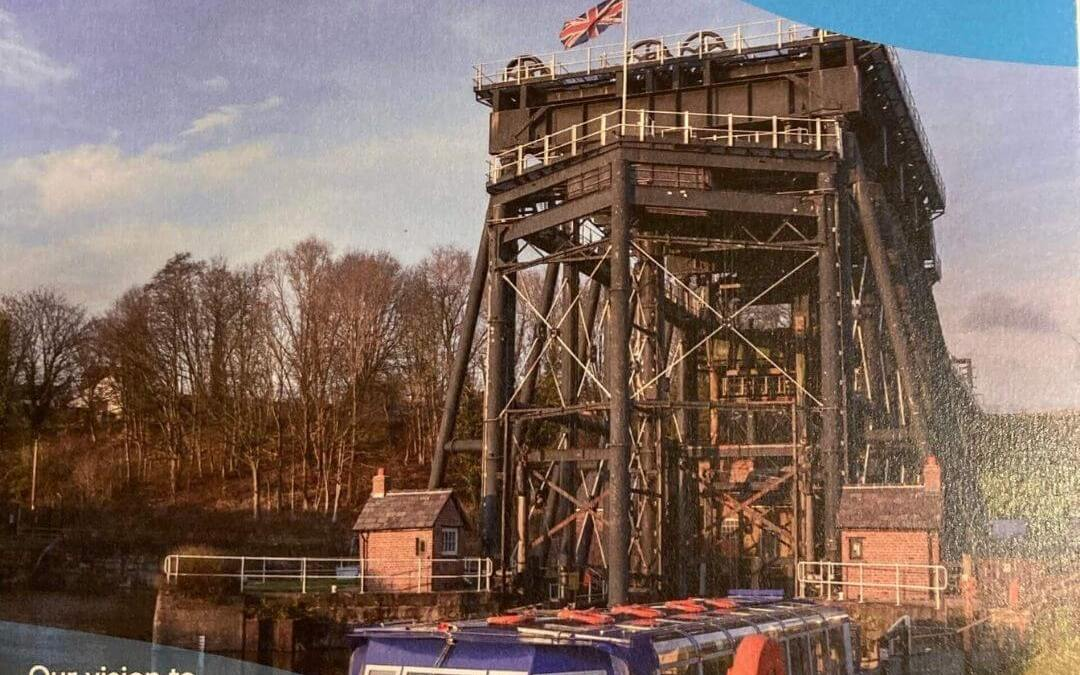 The 150th Anniversary of the Anderton Boat Lift.