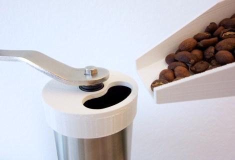 Coffee bean grinding tools