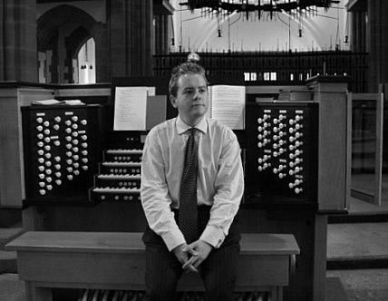 David bednall blackburn cathedral organ
