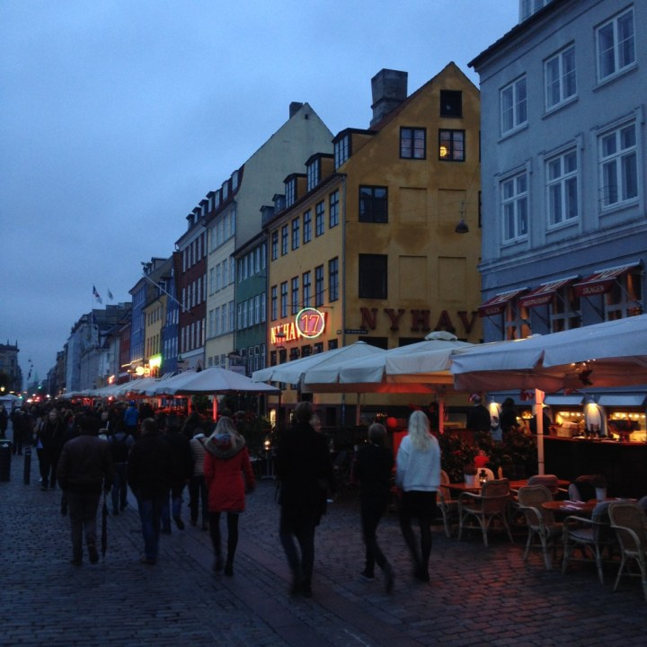 Street Life at Nyhavn